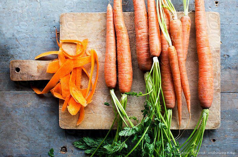 Cà rốt giúp chống nắng tự nhiên