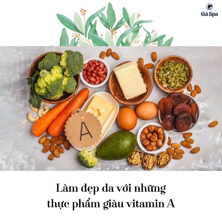 Làm đẹp da với những thực phẩm giàu vitamin A