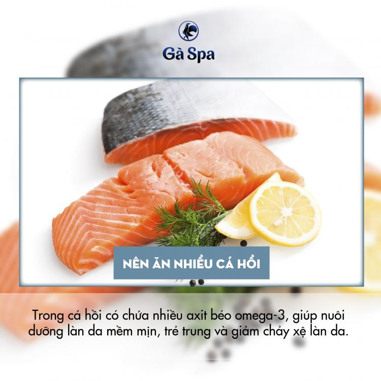 Nên ăn nhiều cá hồi