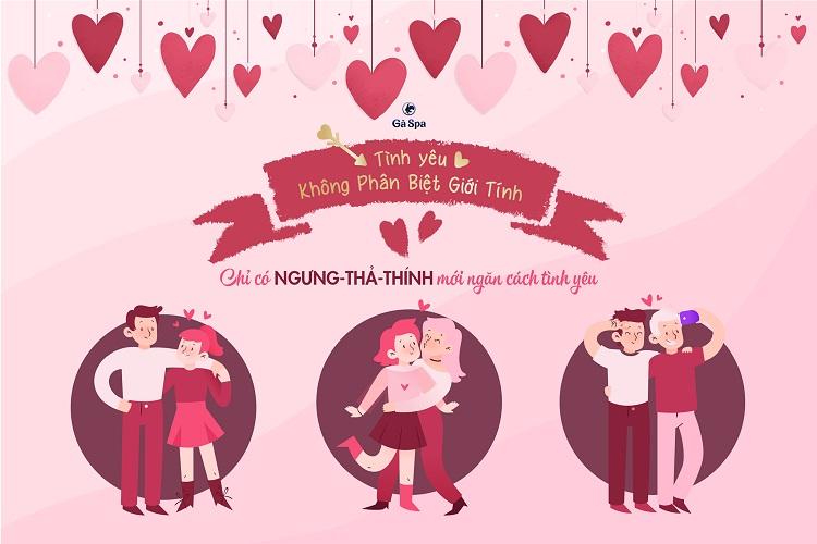 Valentine - Không phân biệt giới tính